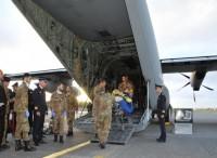 C130J vola in Libia per recuperare feriti