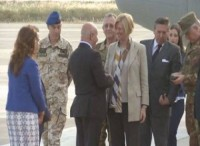 This is Pinotti's second visit to Erbil in two months (from Rudaw)