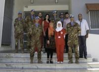 Caschi blu italiani donatori di sangue in Libano