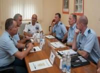 ''306 Squadron'' della Royal Netherlands Air Force in visita a Guidonia