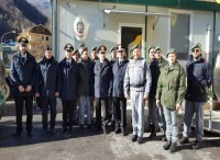 Ad Amatrice, Arquata del Tronto e Visso, il generale Antonio Ricciardi