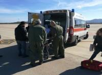 Voli sanitari d'urgenza, grazie all'Aeronautica Militare
