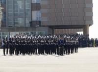 Giuramento del  Corso Urano V alla presenza del generale Claudio Graziano