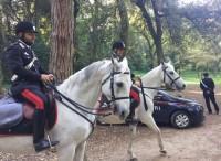 Sicurezza nei parchi di Roma