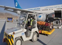 The first Afghanistan-India air corridor, with the first flight carrying 60 tons of medicinal plants worth $11 million (from Hindustantimes