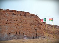 Gli alpini della TF Praesidium realizzano una palestra di roccia presso la Diga di Mosul