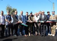 Inaugurata strada per popolazione locale libanese
