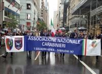 Al ''Columbus day''  l'Associazione nazionale carabinieri di Sabaudia