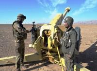 Nuovi artiglieri afghani