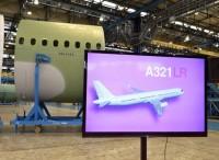 Al nuovo Airbus A321 la prima sezione...