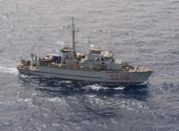 Il cacciamine Alghero si unisce alla forza contro misure mine della NATO