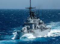LA fregata Espero si unisce all'operazione ''Sea guardian''