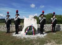 In memoria di tutti i carabinieri infoibati, scomparsi e soppressi