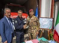 A sostegno dei vigili del fuoco kosovari