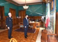 Il sottosegretario alla Difesa Angelo Tofalo si insedia a Palazzo Aeronautica