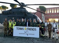 L'Aeronautica Militare all'8^ edizione di ''Tennis & Friends''