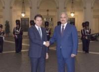 Visita lampo del generale Haftar a Roma