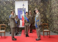 Cambio del comandante di commissariato dell'Esercito