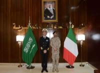 L'ammiraglio Girardelli in Arabia Saudita