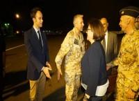 La ministra della Difesa Elisabetta Trenta a Djibouti