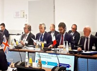 A Monaco Tofalo partecipa ai lavori del meeting ministeriale Eurofighter