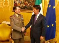 Giuseppe Conte incontra oggi il COCER Interforze