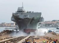 Varata Nave ''Trieste'' alla presenza del Presidente Mattarella