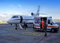 Bimbo in pericolo di vita trasportato d'urgenza da Cagliari a Torino