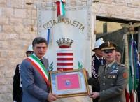 ''Credo e vinco'' e  onorificenza dalla città di Barletta