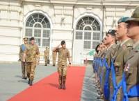 Il generale Farina visita il 4° Corso per Ufficiali subalterni a Torino