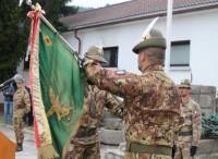 Cambio al Comando del battaglione...
