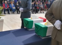 Seconda guerra mondiale: i resti di 27 Caduti tumulati Bari
