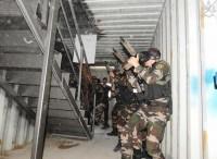 Addestramento per la Presidential Guard palestinese
