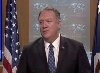 Pompeo said Iran has a relationship with the Taliban and related groups in the region - From Tolonews