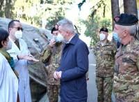 Difesa: il ministro Guerini in visita al Centro ospedaliero di Milano