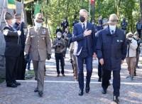 Guerini a Trento visita il museo storico nazionale degli alpini