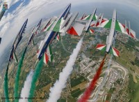 Frecce Tricolori al Gran Premio Nolan del ''Made in Italy e dell'Emilia-Romagna''