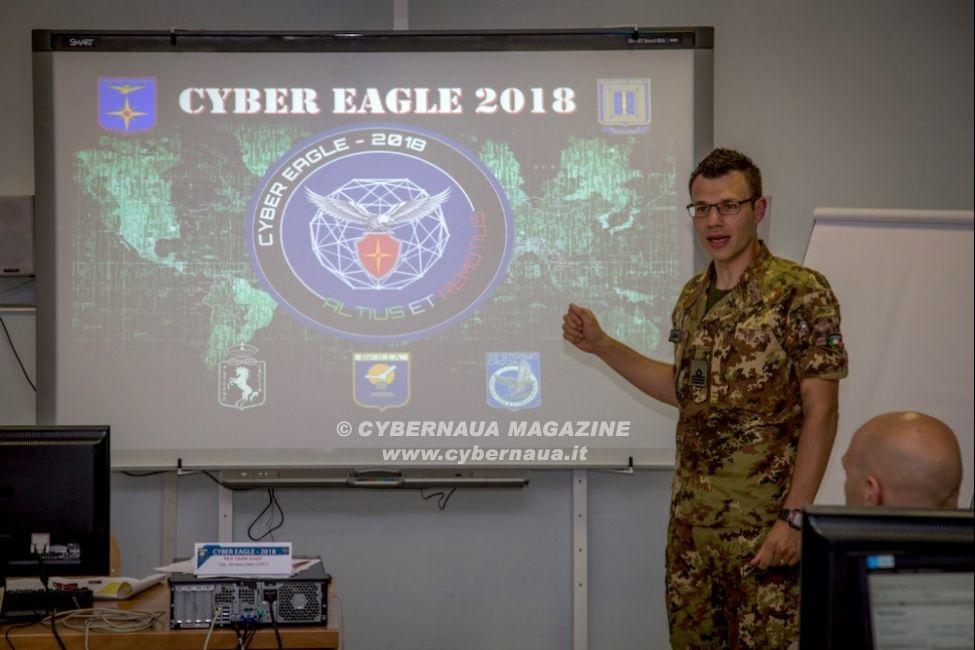 """Conclusa la ''Cyber Eagle 2018'' prima esercitazione nelle forze armate con operazioni """"live"""" di difesa cyber"""