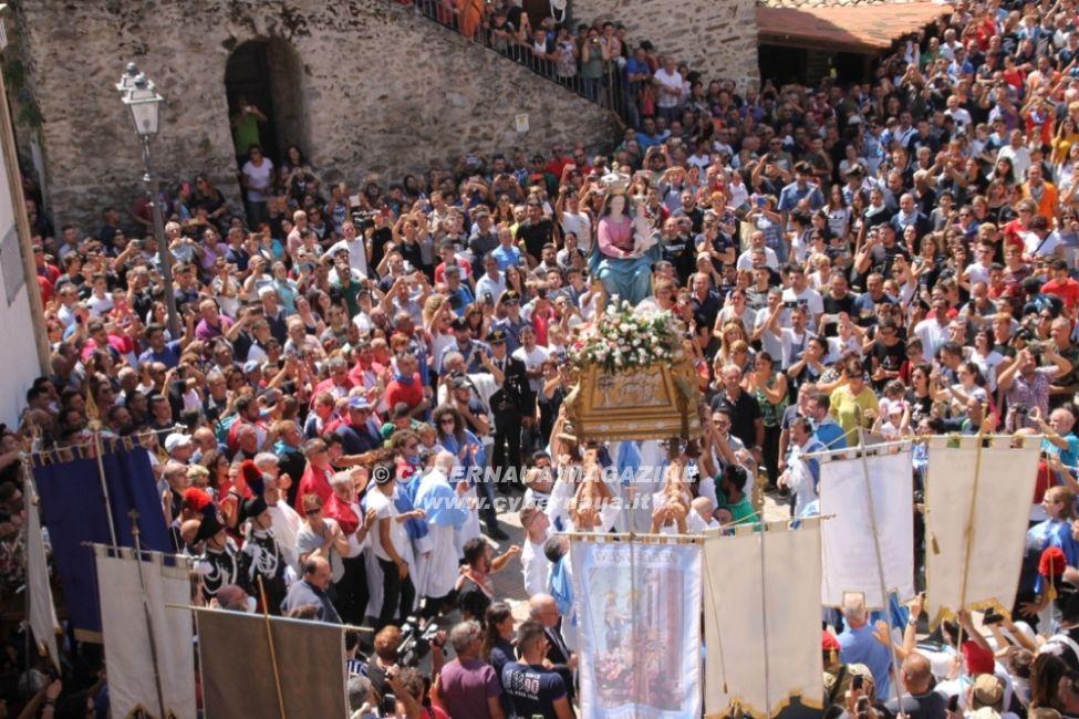 la ''Madonna della Montagna'' santuario sull'Aspromonte