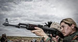 Esercito del sole: sono le donne combattenti Peshmerga