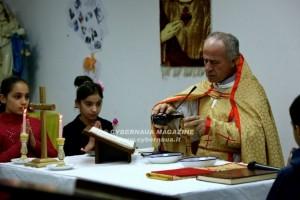 Con i rifugiati cristiani in Kurdistan