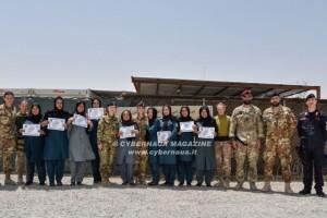 Addestrate alle procedure di primo soccorso venti poliziotte afghane