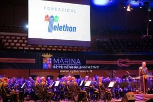Con Telethon, la Banda della Marina Militare al Parco della Musica a Roma