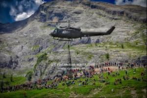Fratellanza d'armi nella palestra naturale delle Dolomiti