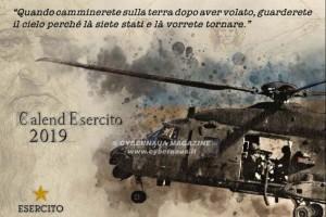 CalendEsercito 2019, omaggio al Genio universale