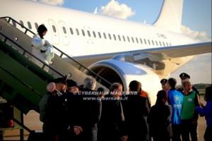 L'Italia accoglie i rifugiati dalla Libia