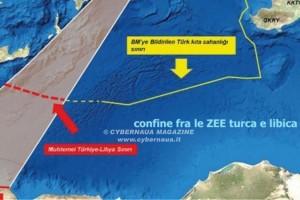 Le manovre turche sulla Zee libica ed i rischi per l'Italia