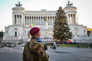 Soldati operativi anche durante le festività, in Patria e all'estero