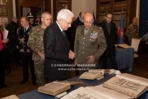 Il Presidente Sergio Mattarella a Palazzo Esercito