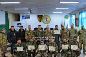 Addestramento per le Forze di Sicurezza afghane